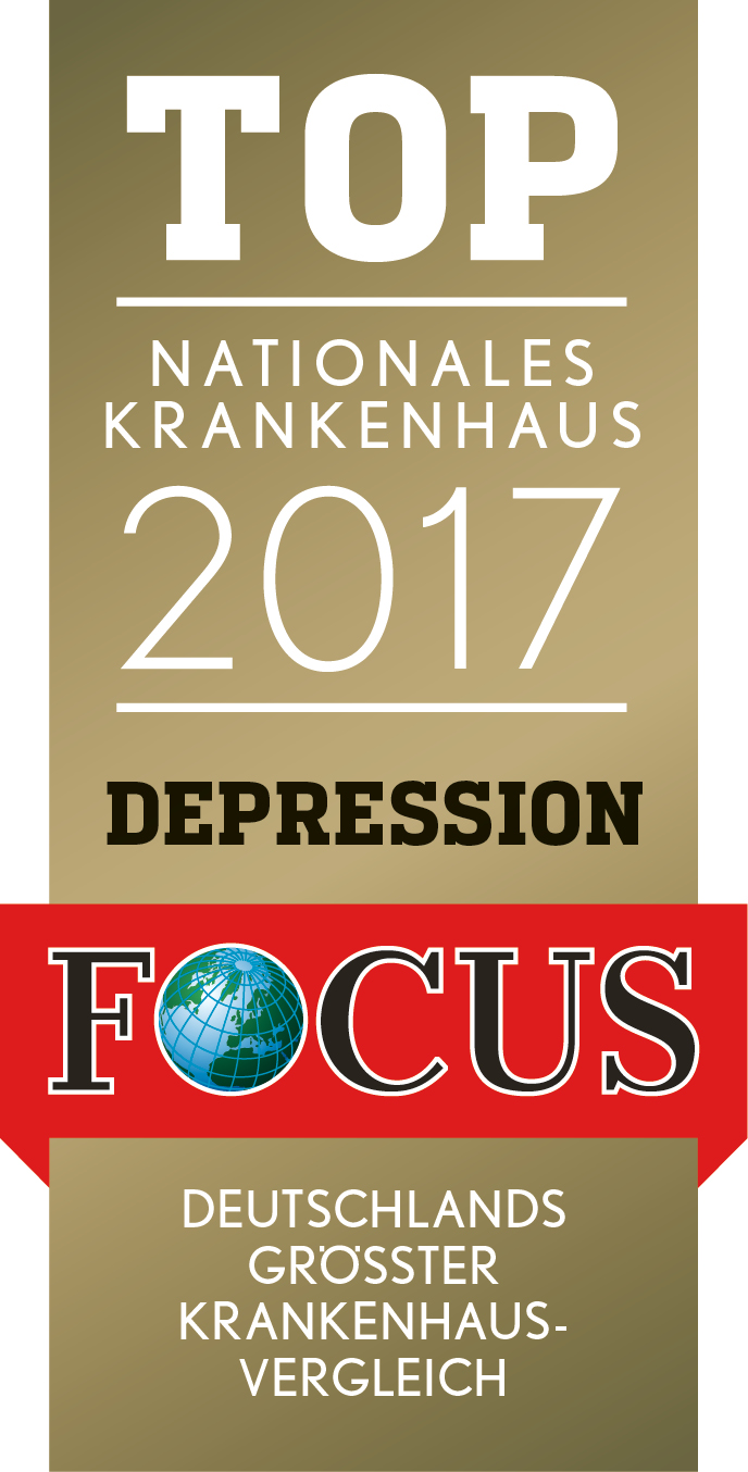 Focus Qualitätssiegel Depression 2017